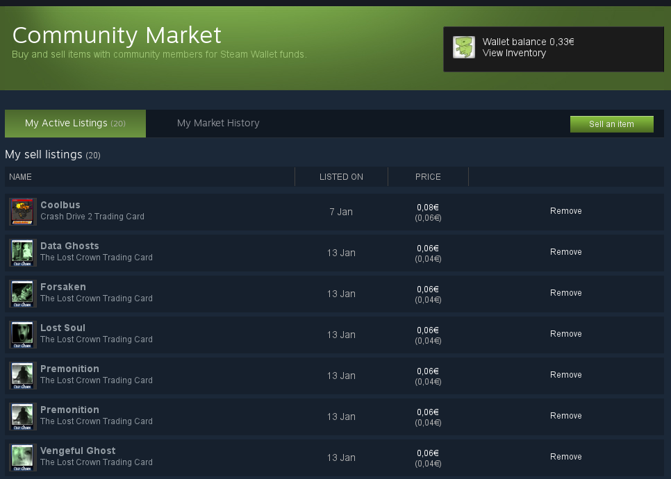 steam market